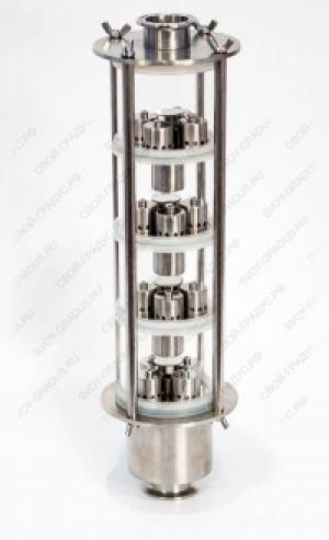 """Колпачковая колонна """" Фаворит"""" (4 уровня) под кламп 1.5 или 2 дюйма"""